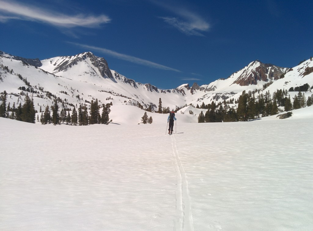 Towards McGee Lake